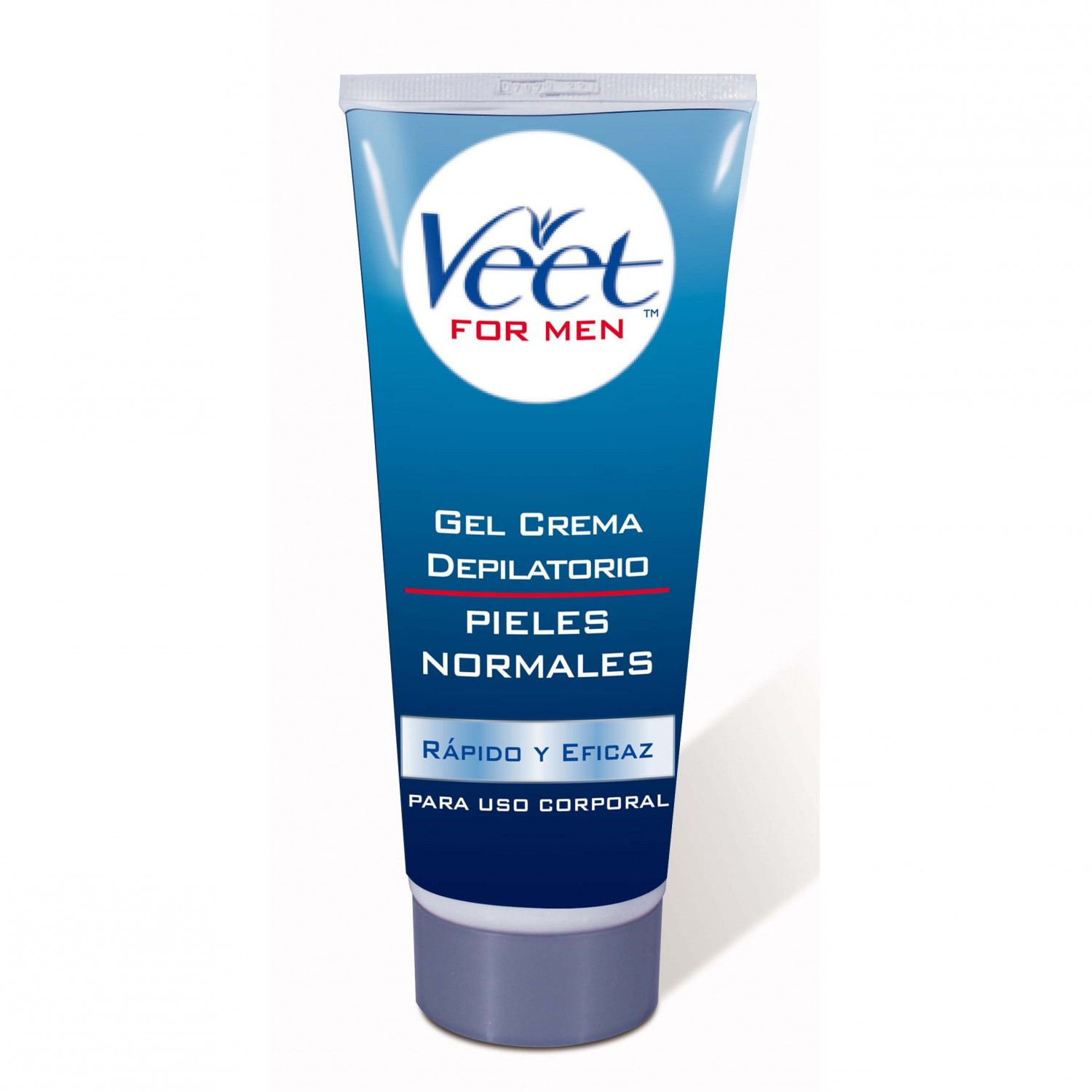 Veet For Men gel crema depilatorio piel normal uso corporal tubo de 20cl.