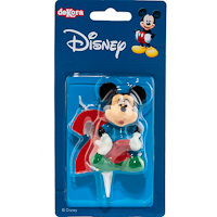 Display velas       nº2 mickey 6,5cm
