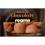 Regma helado chocolate de 50cl. en tarrina