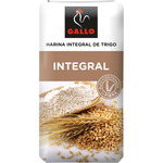 Gallo harina trigo integral de 1kg.