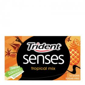 Trident chicles stick tropical mix trident