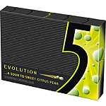 Five evolution citrico dulce chicles sin azucar envase de 31g.