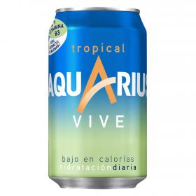 Aquarius vive tropical de 33cl.