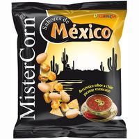 Grefusa mistercorn cocktail frutos secos mexico de 155g. en bolsa