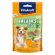 Vitakraft snack treaties pollo menta perros de 120g.