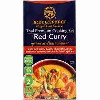 Cooking red curry blue elephant de 95g.