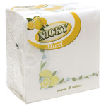 Nicky servilleta limon 2 capas 65u