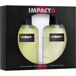Impacto eau cologne masculina after shave de 10cl. en bote
