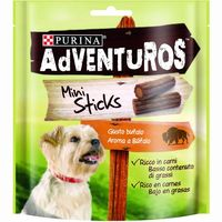 Adventuros mini sticks friskies de 90g. en paquete