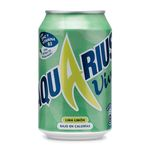 Aquarius vive lima limon de 33cl.