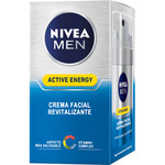 Nivea For Men hombre skin energy crema hidratante q 10 revitalizante de 50ml. en bote