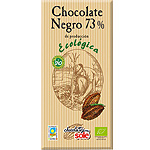 Sole chocolate negro 73% cacao ecologico tableta de 100g.