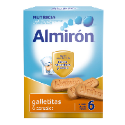 Almiron galletitas 6 cereales de 180g.