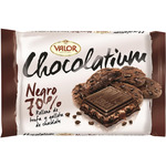 Valor chocolatium chocolate negro 70% cacao relleno trufa galleta chocolate tableta de 100g.