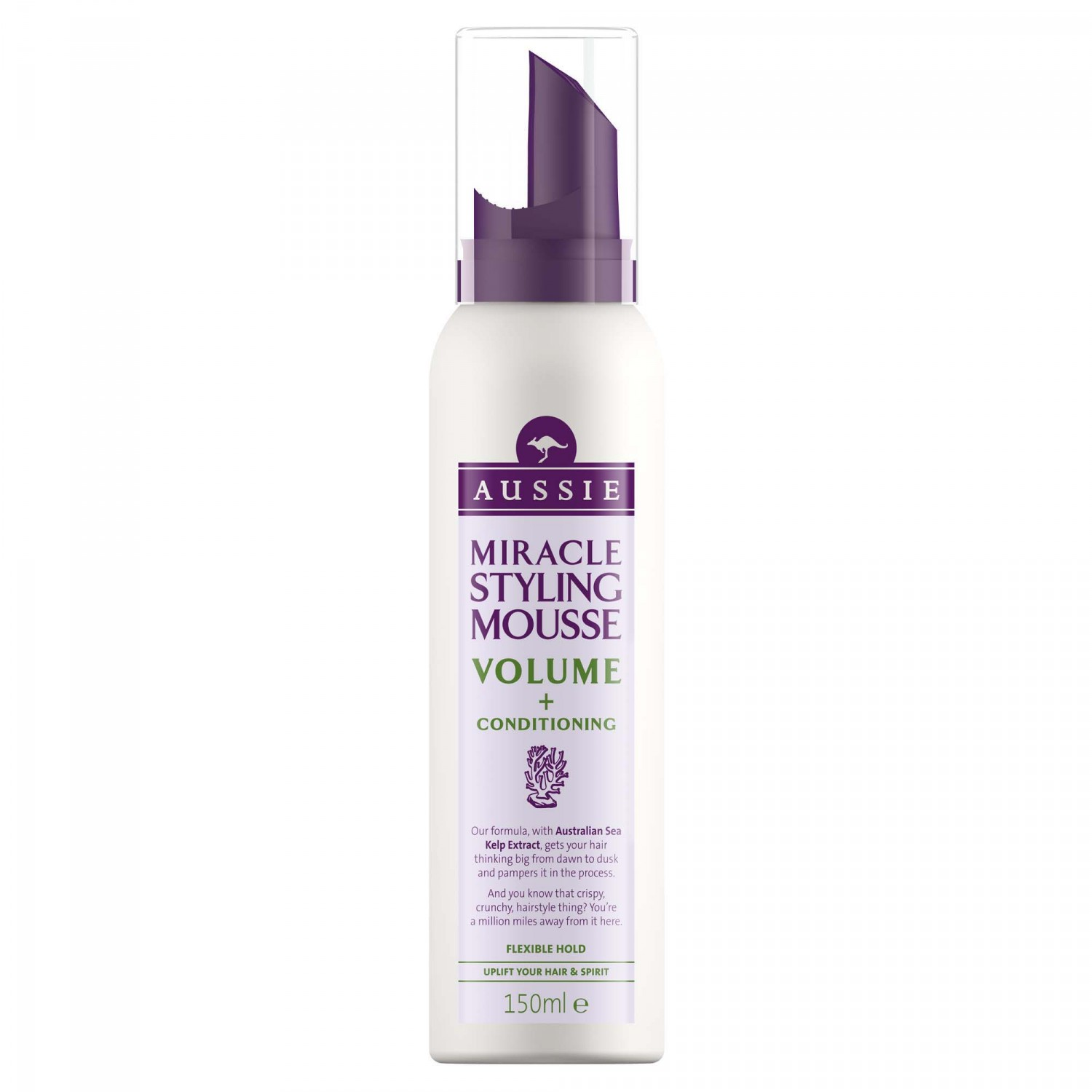 Aussie aussie espuma volume con extracto algas mar australiano de 15cl. en spray