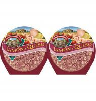 Casa Tarradellas pack pizza jamon queso de 450g.