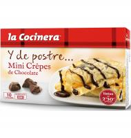 La Cocinera minicrepes chocolate de 270g.