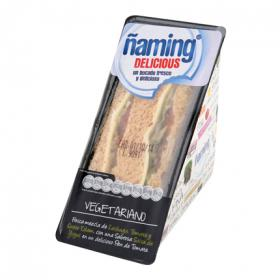 Sandwich delicious vegetariano ñaming de 190g.