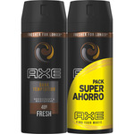 Axe desodorante dark temptation de 15cl. por 2 unidades en spray