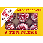 Tunnocks teacakes chocolate con leche por 6 unidades