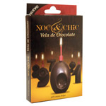 Xoc & chic vela chocolate nº