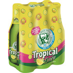 Tropical limon cerveza con limon natural de 25cl. por 6 unidades en botella
