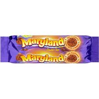Galleta double choc maryland de 145g. en paquete