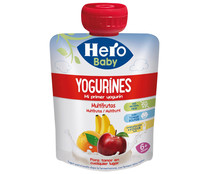 Hero Baby yogurines multifrutas en bolsita de 80g.
