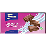Tirma chocolate con leche tableta de 75g.