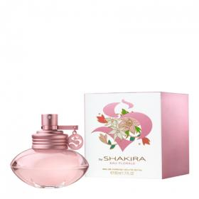 Shakira florale eau toilette natural femenina de 50ml. en spray