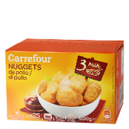 Carrefour nuggets pollo de 500g.