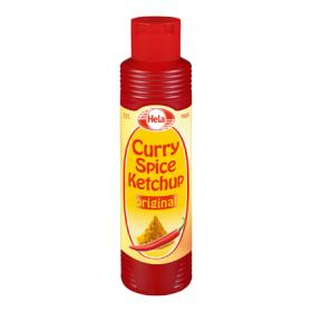 Ketchup curry hela de 400g.