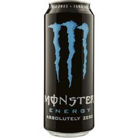 Monster refresco energy absolutely zero de 50cl.