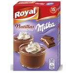 Milka royal natillas creme de 150g.