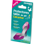 Aquamed active party protectores del talón de gel por 2 unidades en caja