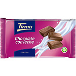 Tirma chocolate con leche tableta de 300g.