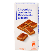 Carrefour Discount chocolate leche de 100g.