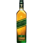 Johnnie Walker whisky escoces green label puro malta 15 años de 70cl. en botella