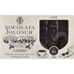Vicens chocolate piedra jolonch taza con un 60% cacao tableta de 300g.