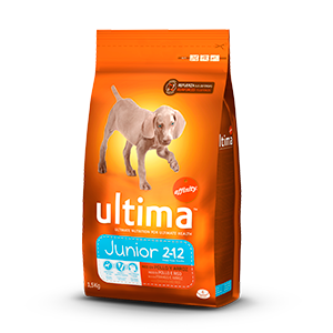 Ultima alimento perro mini junior de 1,5kg. en bolsa