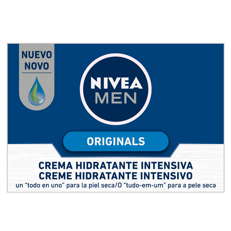 Nivea For Men hombre originals crema hidratante intensiva de 50ml. en bote