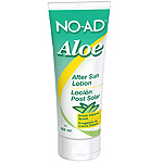 No Ad after sun locion aloe despues del sol fragancia cocos frescos tubo de 25cl.