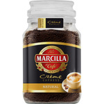 Marcilla creme express cafe soluble tueste natural de 200g. en bote