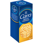 Carrs melts crackers estuche de 150g.