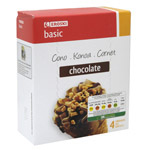 Eroski Basic cono chocolate de 48cl. por 4 unidades